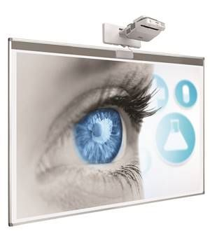 Projection board softline c/w strip for touch module. 83