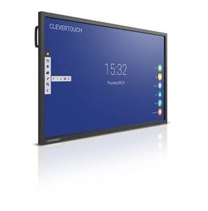"Clevertouch V Series 4K 75"" 20 point touch"