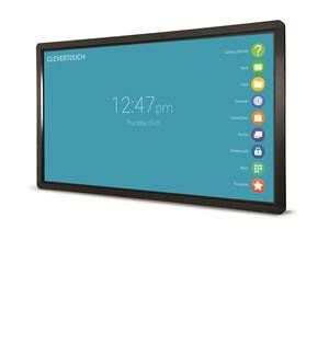 "Clevertouch Plus Series 86"" 4K 20 point touch"