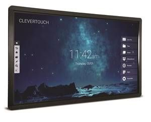 "Clevertouch Pro Series 75"" 4K 20 point touch"