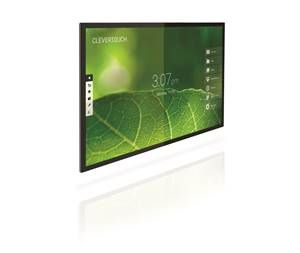 "Clevertouch Pro Series 65"" 4K 20 point capacitive touch"