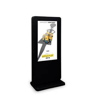 "55"" Freestanding Outdoor Digital Poster"
