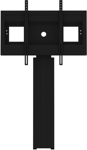 "Floor to Wall Support fixed height for 46"" - 86"" models, all black"