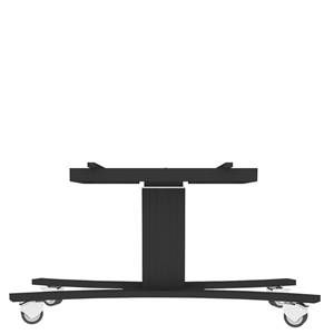 "Mobile trolley LOW with electric height & TILT adj. for 55""-56"" displays, C-base, all black"