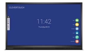"""Clevertouch V Series 4K 75"""" 20 point touch"""